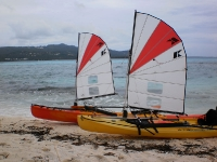 Ocean Kayak Scupper Pros in Saipan