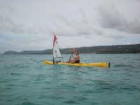 paddle-sailing fun