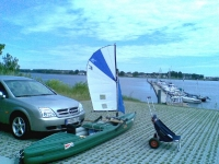 Kayak sailing Germany