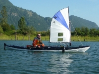 Delta Kayak Sailing