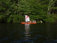 New Hampshire kayak sail, Old Town