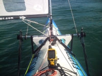 Barracuda Expedition Sailing kayak