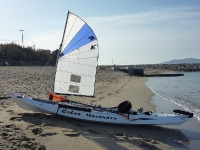 Cobra Kayak Sailing