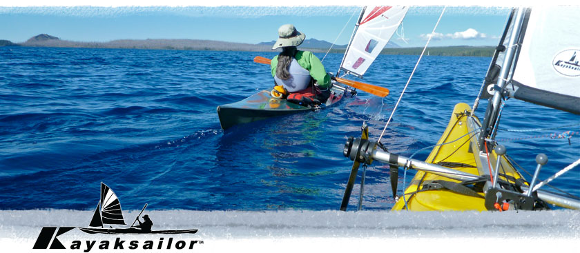 kayak sailing waldo lake oregon was great skin-on-frame sof and necky eskia