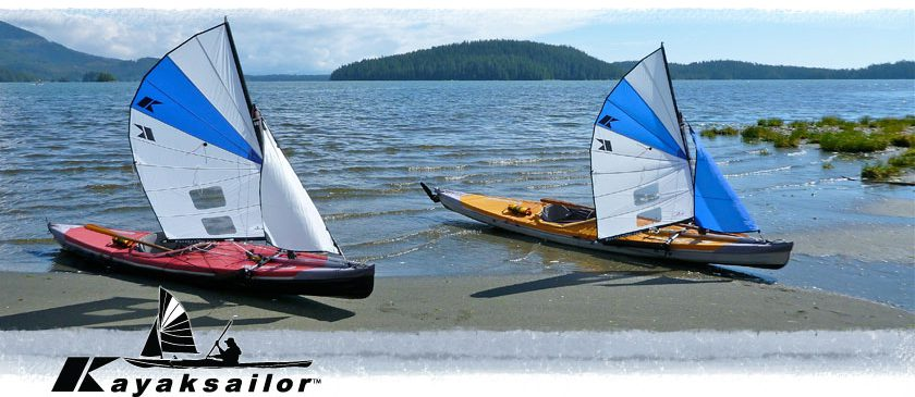 Sea kayak sailing in Vancouver Island in Brithish Columbia Toquart bay
